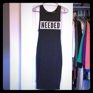 Needed tank dress size small S